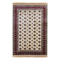 Konstsilkesmatta Puri - Ivory