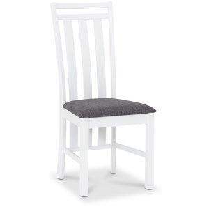 Skagen matstol - Vit / Grå