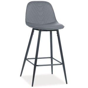Hana barstol - Grå/svart