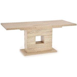 Jonatan utdragbart matbord 135-185 cm - Ljus Ek