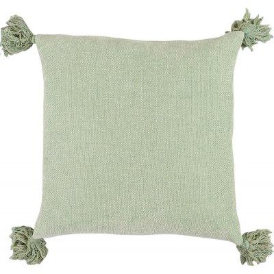Tassle kuddfodral 45x45 cm - Green