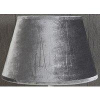 Velvet Oval lampskärm 33 cm - Grå