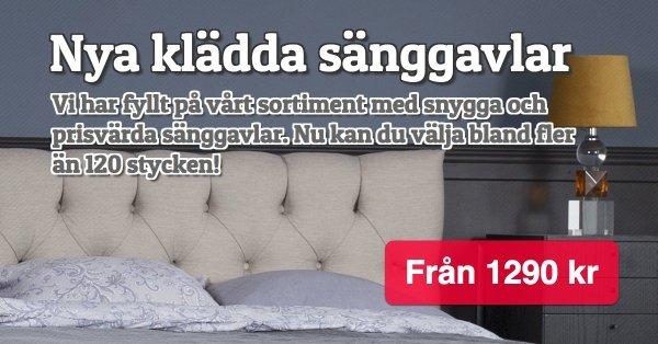 Nya sänggavlar från 1290 kr!