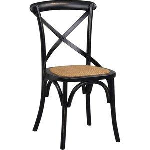 Gaston stol - Antiksvart