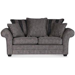 Sultan 2-sits soffa - Grå/brunt mönster