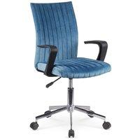 Otto kontorsstol - Blå (sammet)