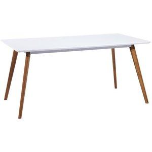 Hillerstorp matbord 140 cm - Vit/ek