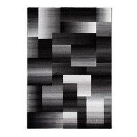 Maskinvävd matta Thorsten - Svart