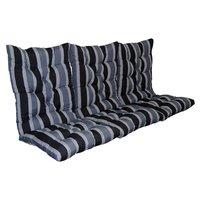 Sittdyna till hammock - Grå/svart