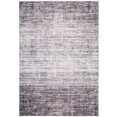 Maskinvävd matta Cleo Modern - Brun/Grå