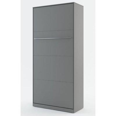 Sängskåp compact living Vertikalt (90x200 cm fällbar säng) - Grå