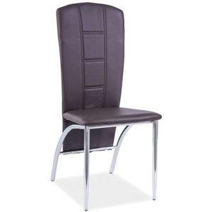 Lexie stol - Brun/krom