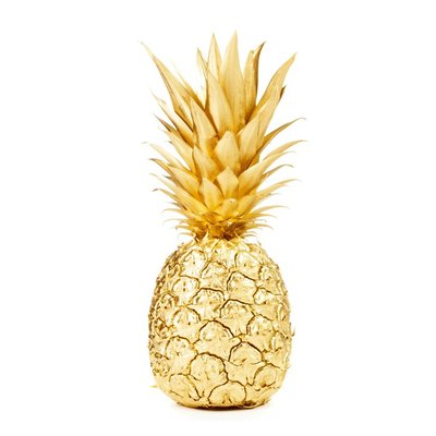 Poster Guld Ananas