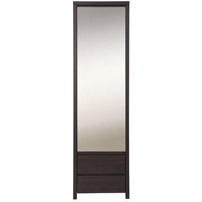 Filippa garderob - Mörk Ek / Spegel