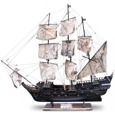Old Sailor Modellbåt Black Pearl segelbåt - 95 cm