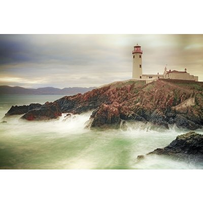 Glastavla Lighthouse - 120x80 cm
