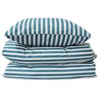 Bäddset - Stripe darkgreen