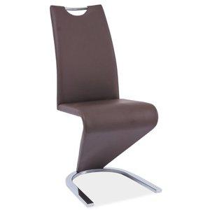 Stol Lillie - Brun/krom