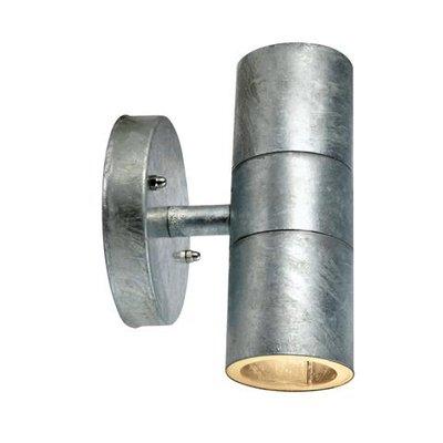 Dan Vägglampa 2 - Galvaniserad metall